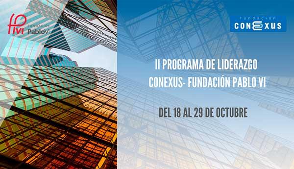 Becas Conexus-Fundación Pablo VI 2021